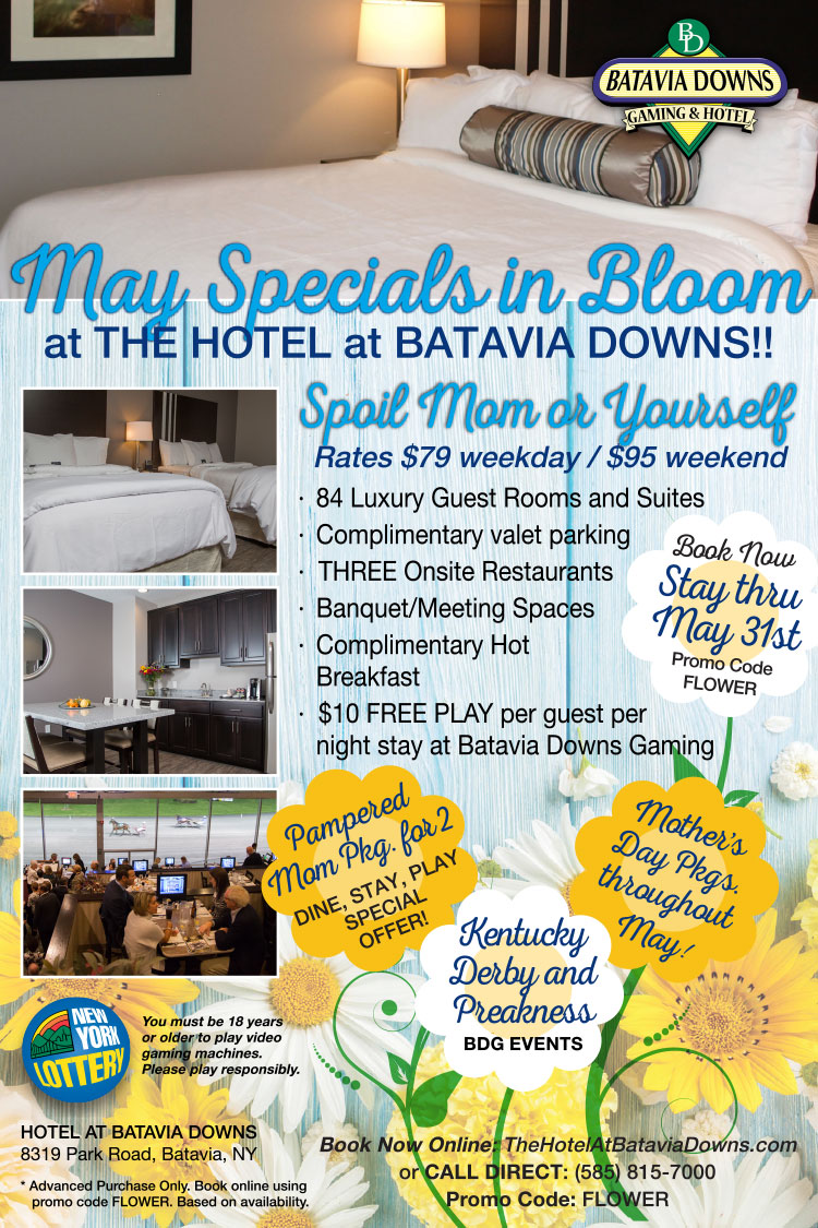 Hotel at Batavia Downs May 2018