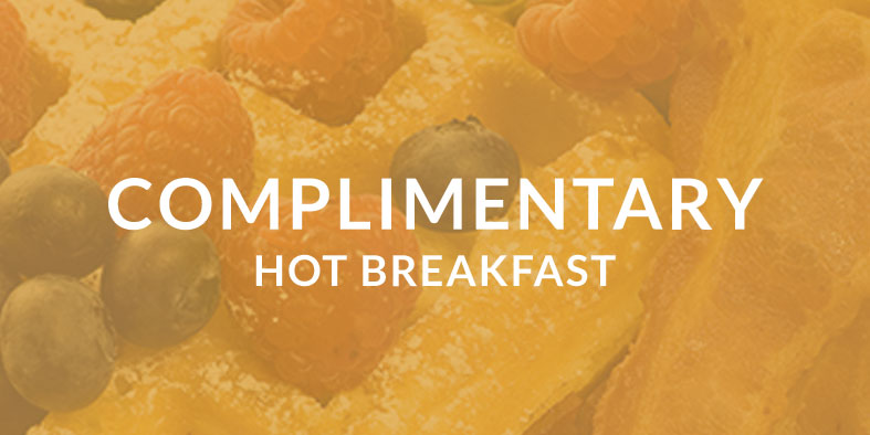 complimentary hot breakfast