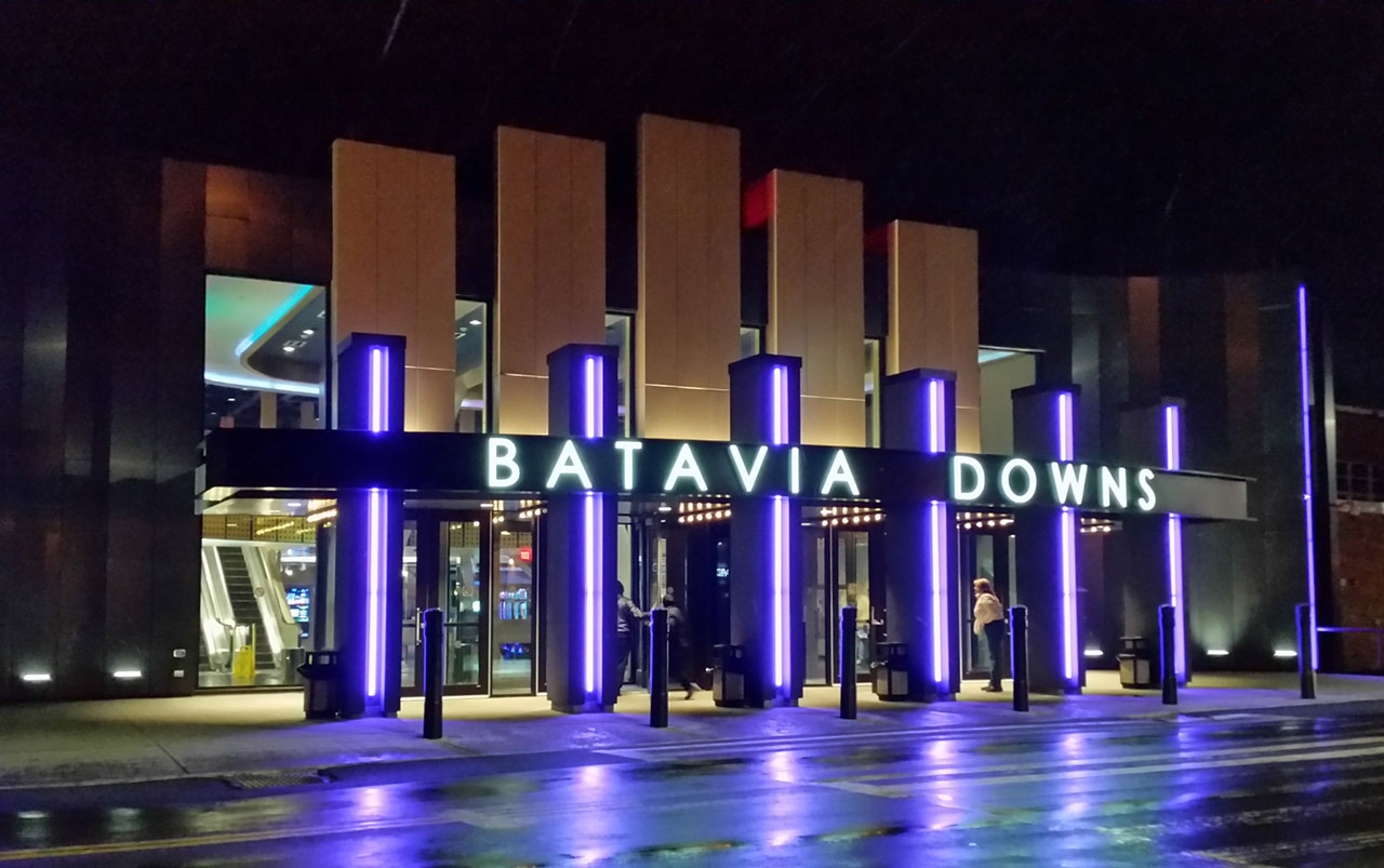 Batavia Downs Gaming Building Front